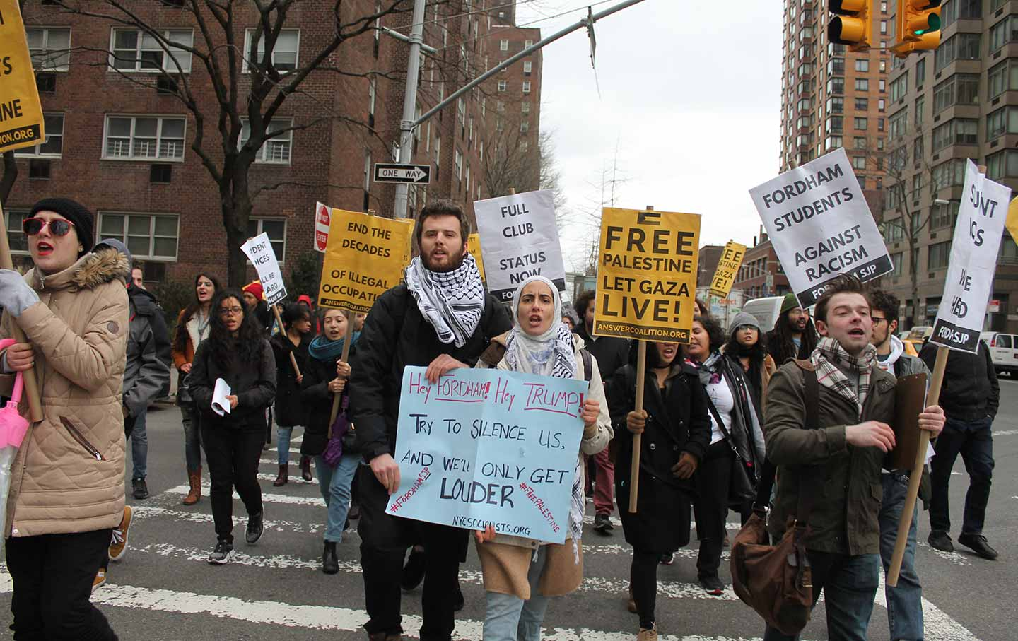 Fordham's Students for Justice in Palestine Did More Than Win Club Status