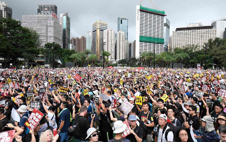Hong Kong Protestors August 2019