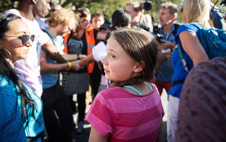 Greta Thunberg NYC Climate Strike