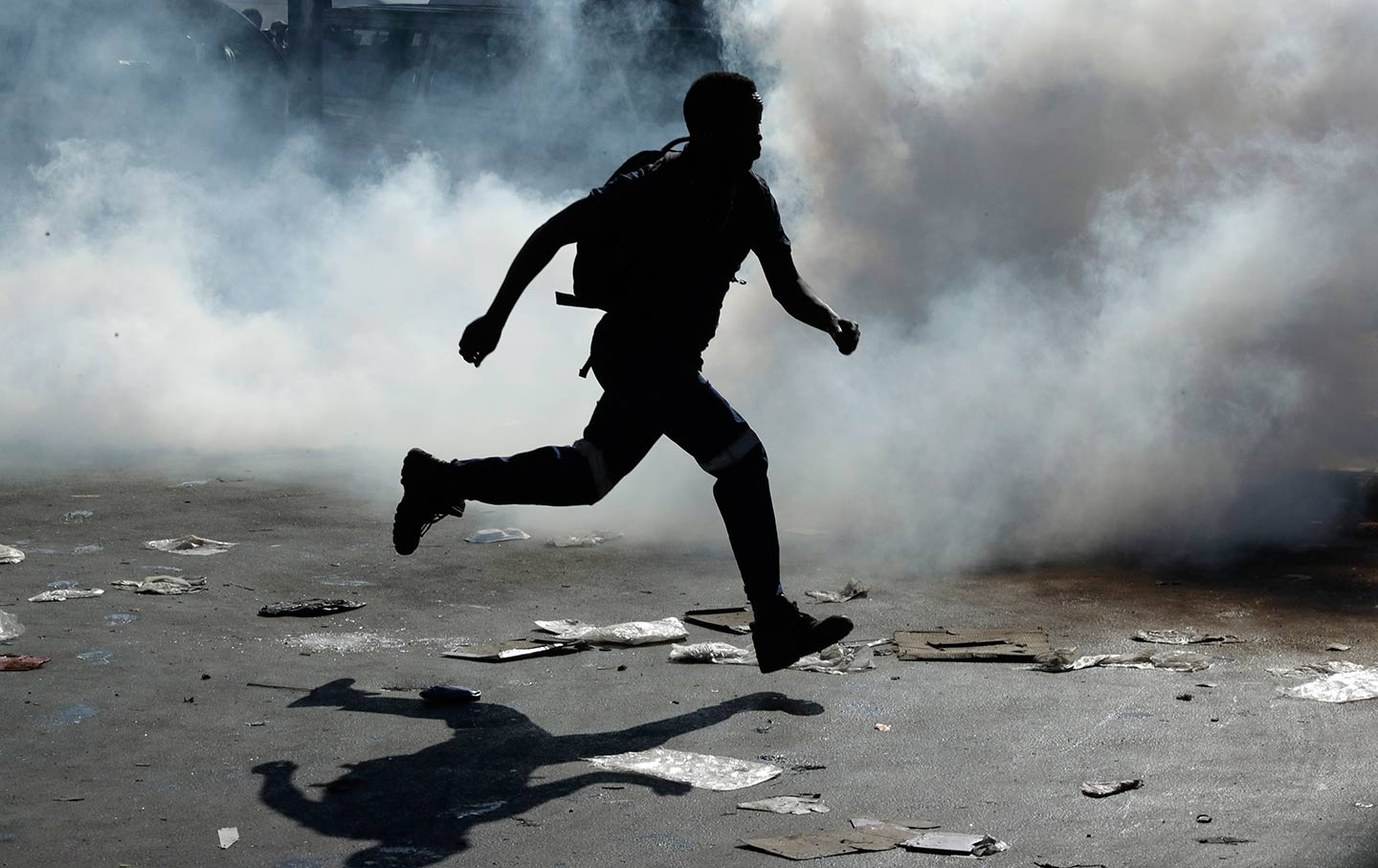 South Africa unrest in Johannesburg