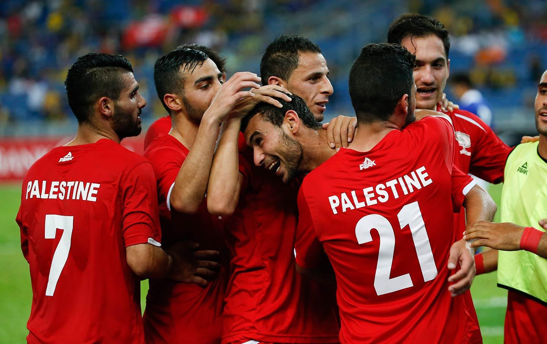 Palestinian soccer team