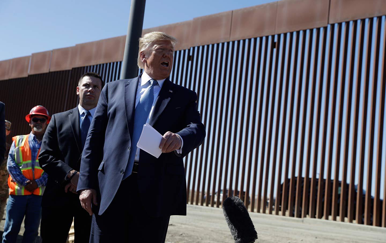 Trump Homelessness California Border