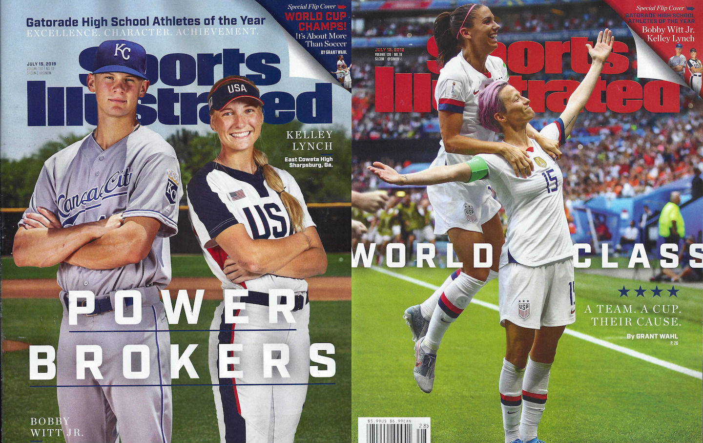 Sports Illustrated magazine covers