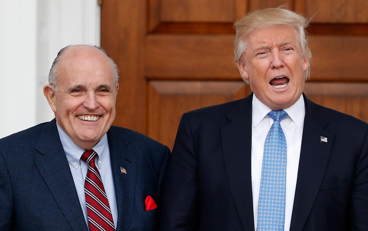 Trump and Guiliani