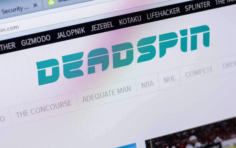 Deadspin Logo