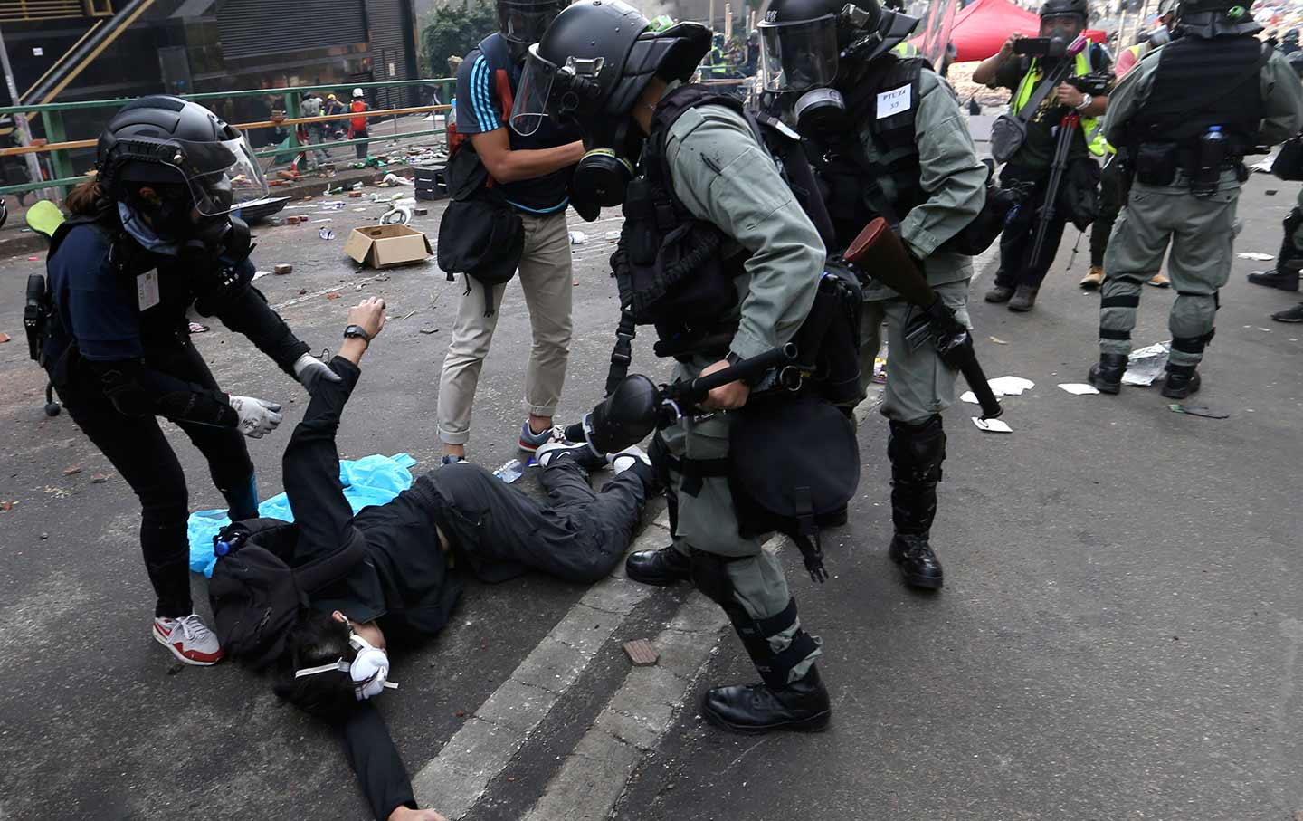 The Hong Kongers Building a Case Against the Police | The Nation