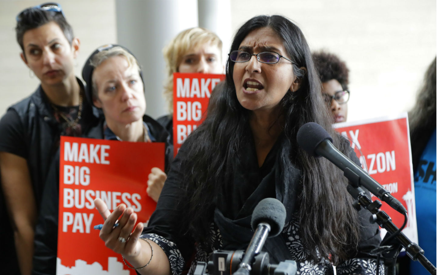 Kshama Sawant Amazon