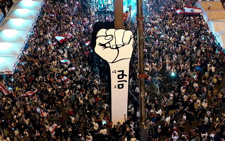 beirut-lebanon-protest-fist-ap-img