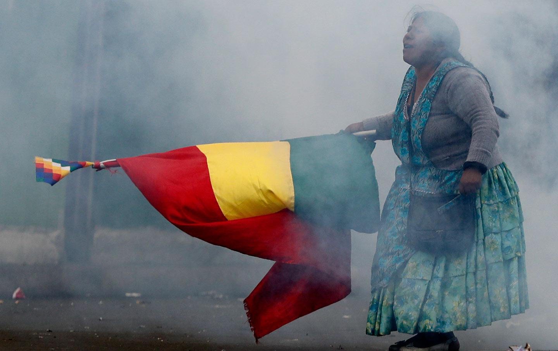 Bolivia protestor 2019