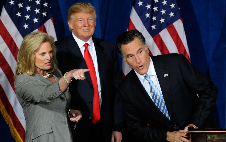 Romney and Trump