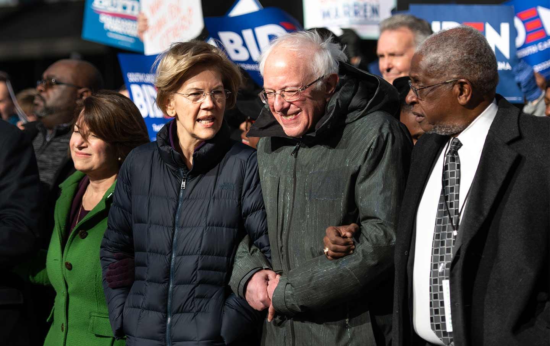Bernie-Warren-MLK-rally-Getty-cropped-img