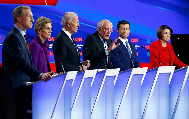 Why Was Pete Buttigieg Still on the Debate Stage—And Kamala Harris Wasn't?