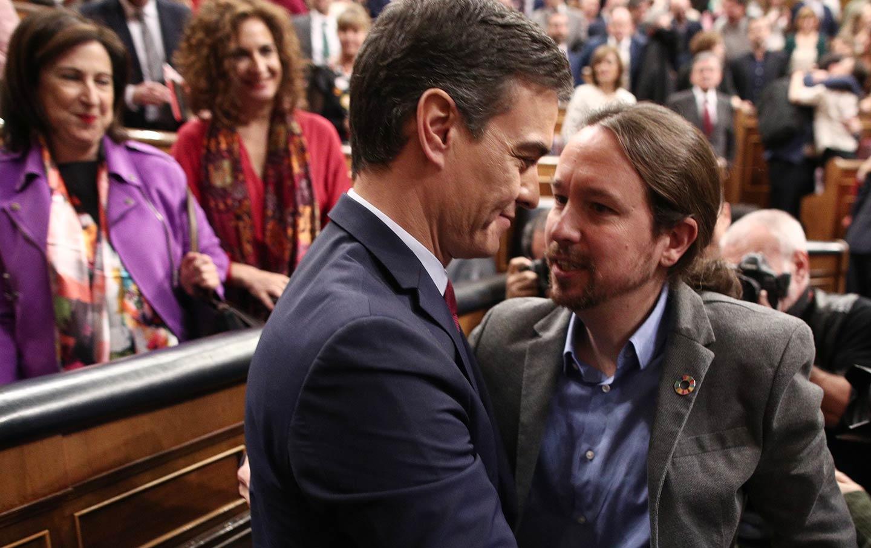 Iglesias congratulates Sanchez