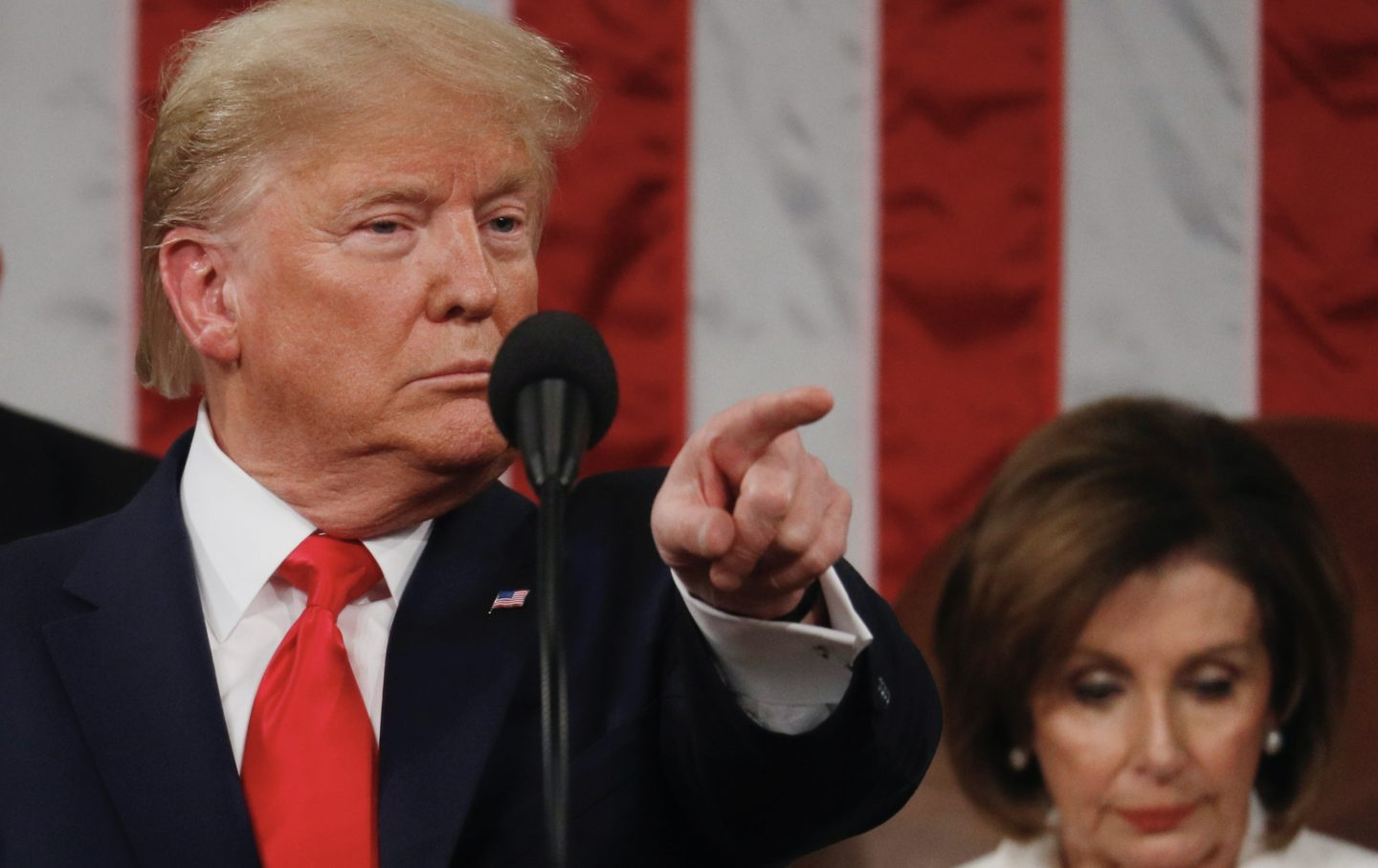 DC: U.S. President Trump delivers State of the Union address