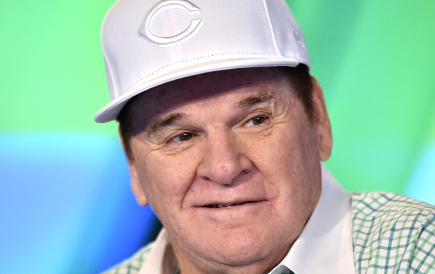 "Pete Rose on Stuart Varney's ""Varney & Co."" at Fox Business Network Studios in June, 2019 in New York City."