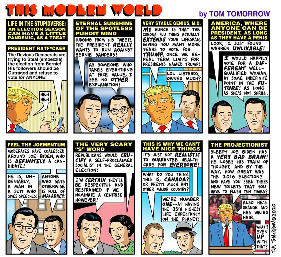 Tom Tomorrow cartoon