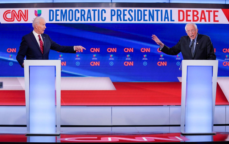 Biden and Sanders debate