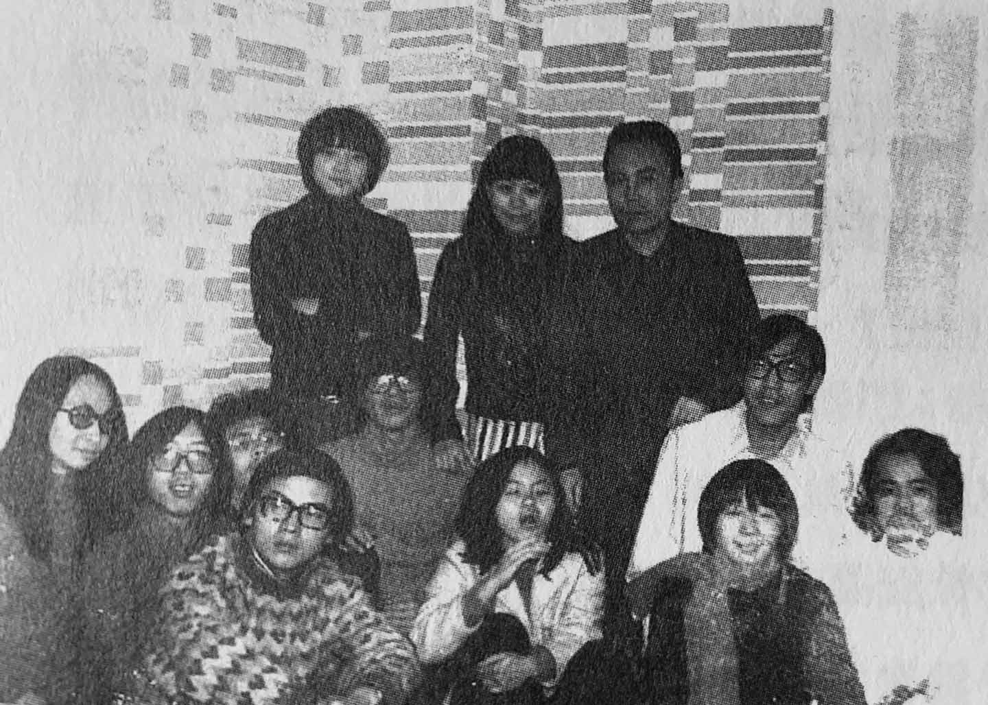 Members of the 70's Biweekly collective