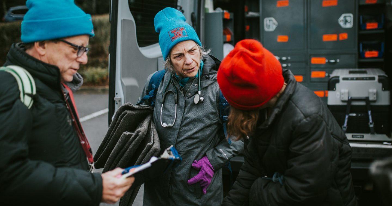 Members of Portland Street Medicine