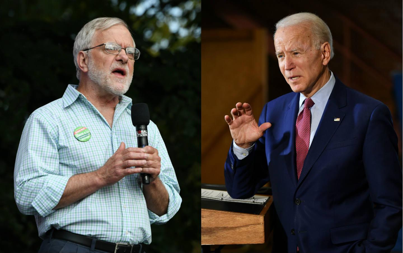 Howie Hawkins and Joe Biden