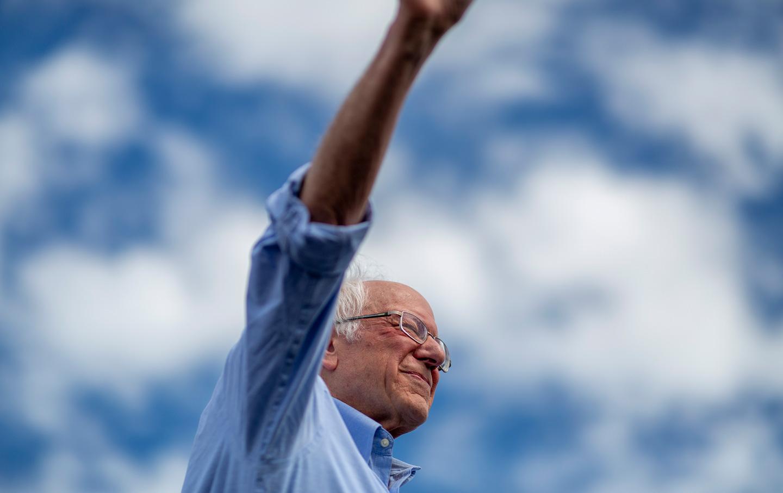 Bernie Sanders Talks About New Initiatives to Cut the Pentagon Budget