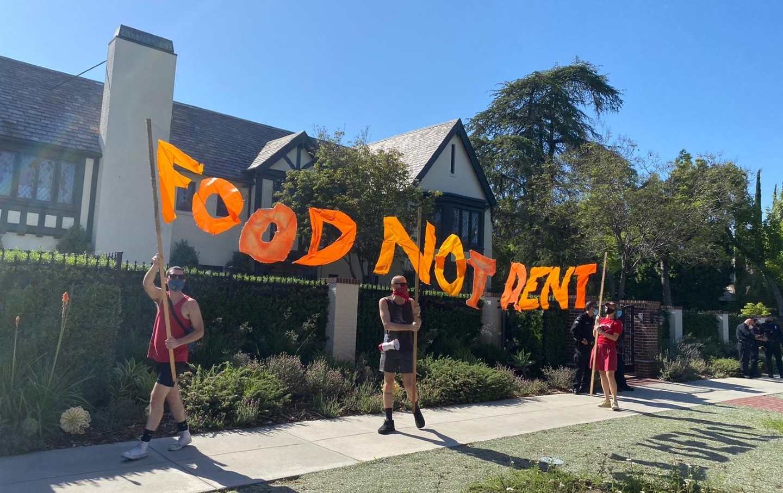 LA Tenant Protest