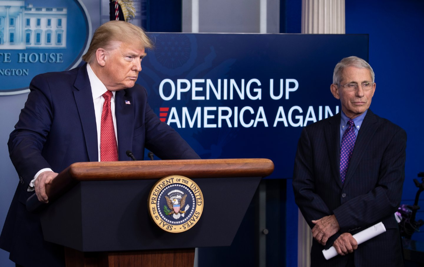 Trump and Fauci