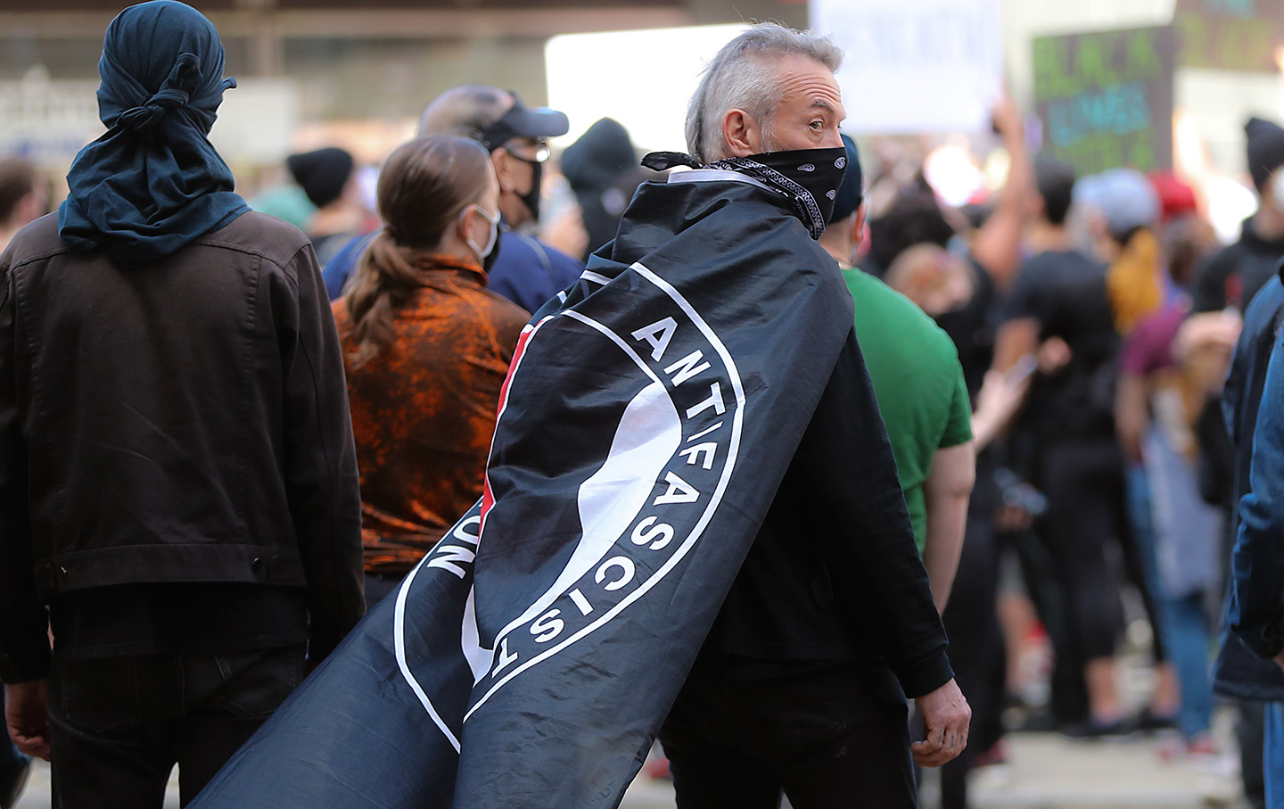 Getty-antifa