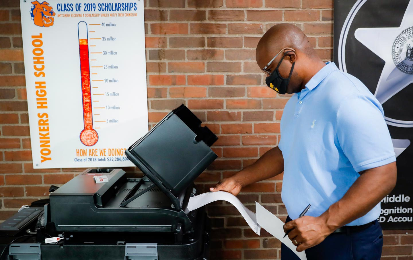 jamaal-bowman-voting-polling-station-ap-img
