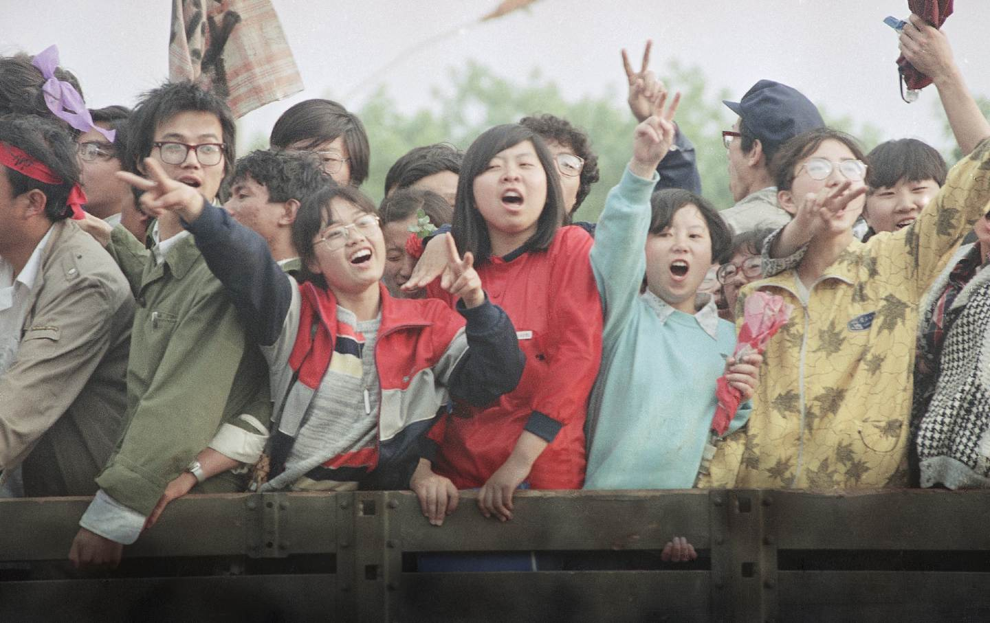 Excited youth