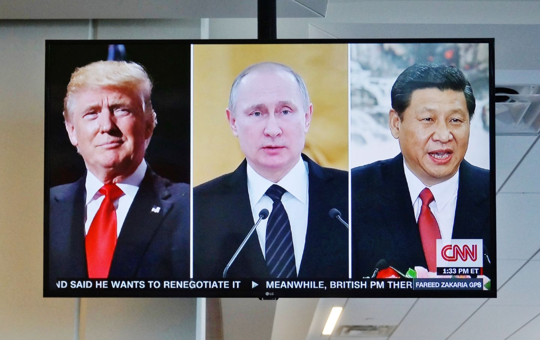 Trump, Putin and Jinping