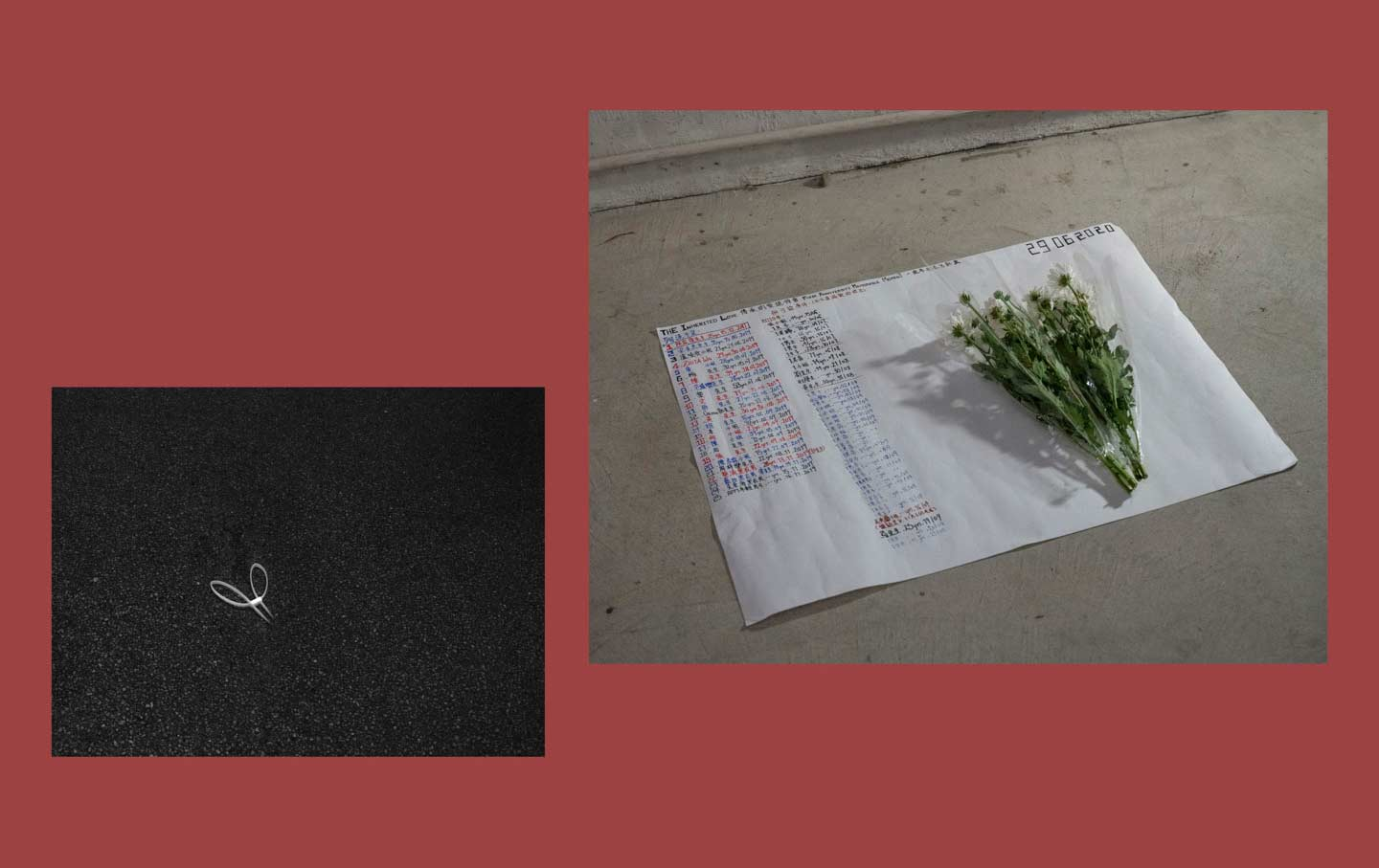 Hong Kong's Protesters Are Writing Their 'Last Letters'