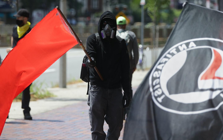 Antifa Rally in Boston