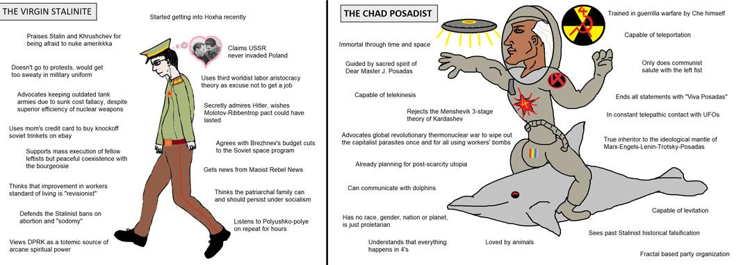 Posadist Chad Meme