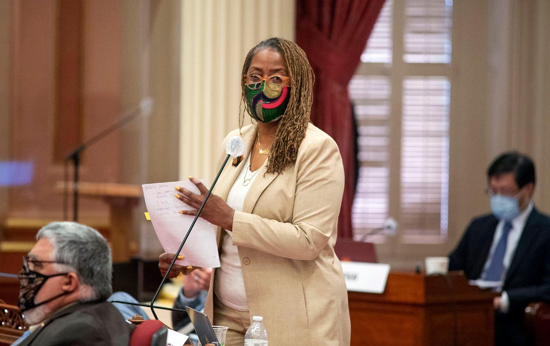California State Senator Holly Mitchell