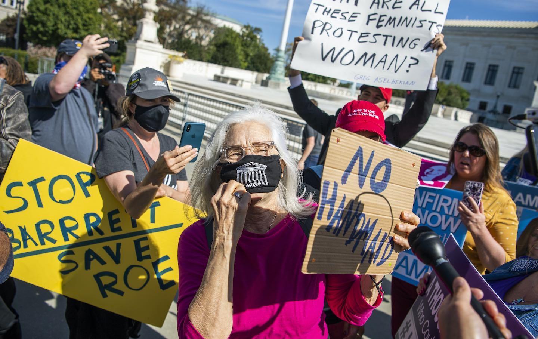 Coney Barrett Protest