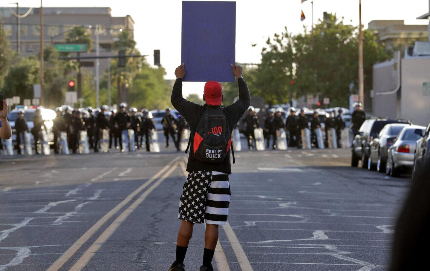 America Protests Phoenix