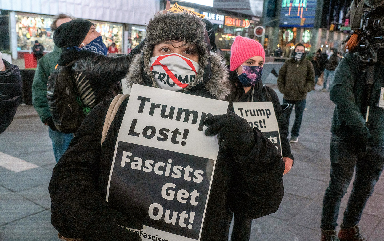 AP-goat-fashist-protest