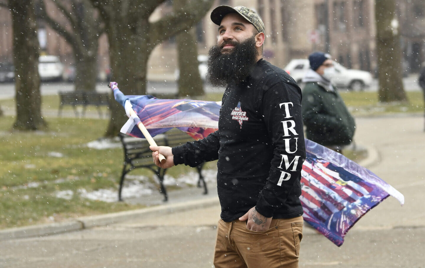 Lone-protester-inauguration-ap
