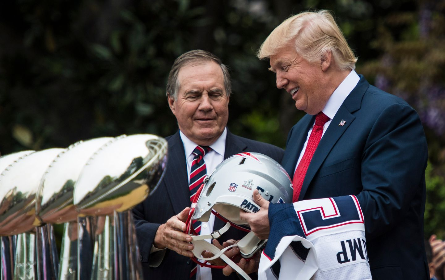 Trump and Belichick