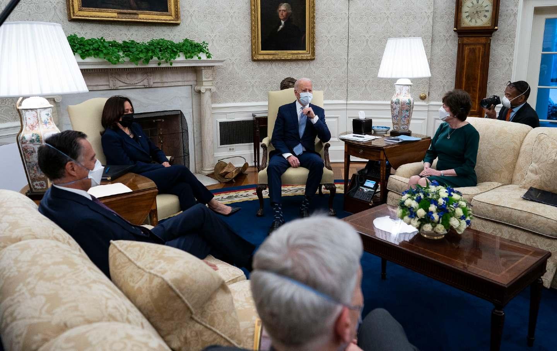 Biden meets Republicans