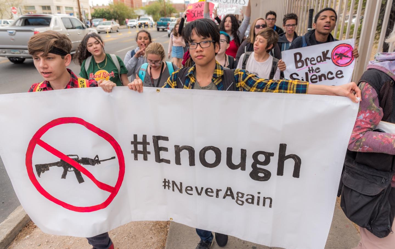 student-gun-walkout-shutterstock
