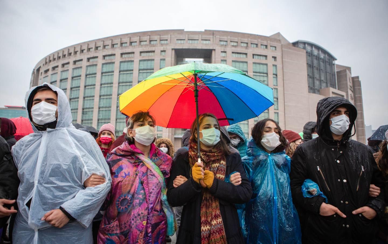 Student protest Turkey