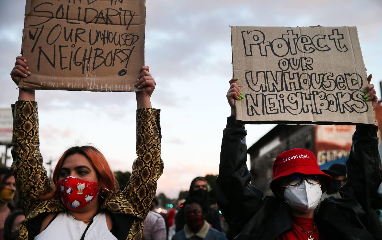 Echo Park Protest