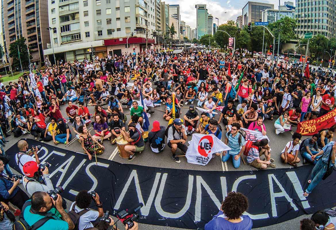 São Paulo fare protest 2018