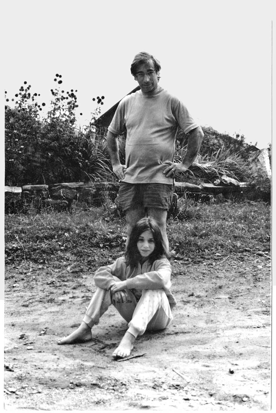 Jezer-Martin with her father