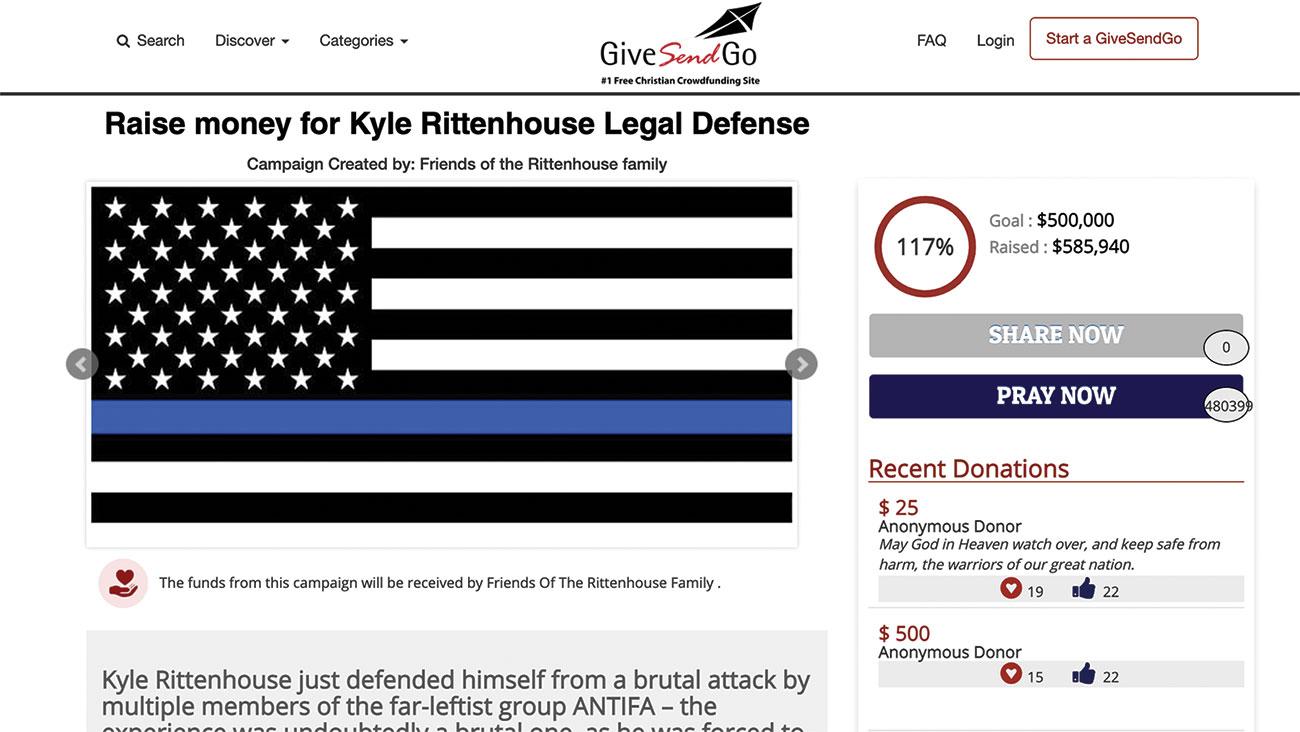 Kyle Rittenhouse defense fund