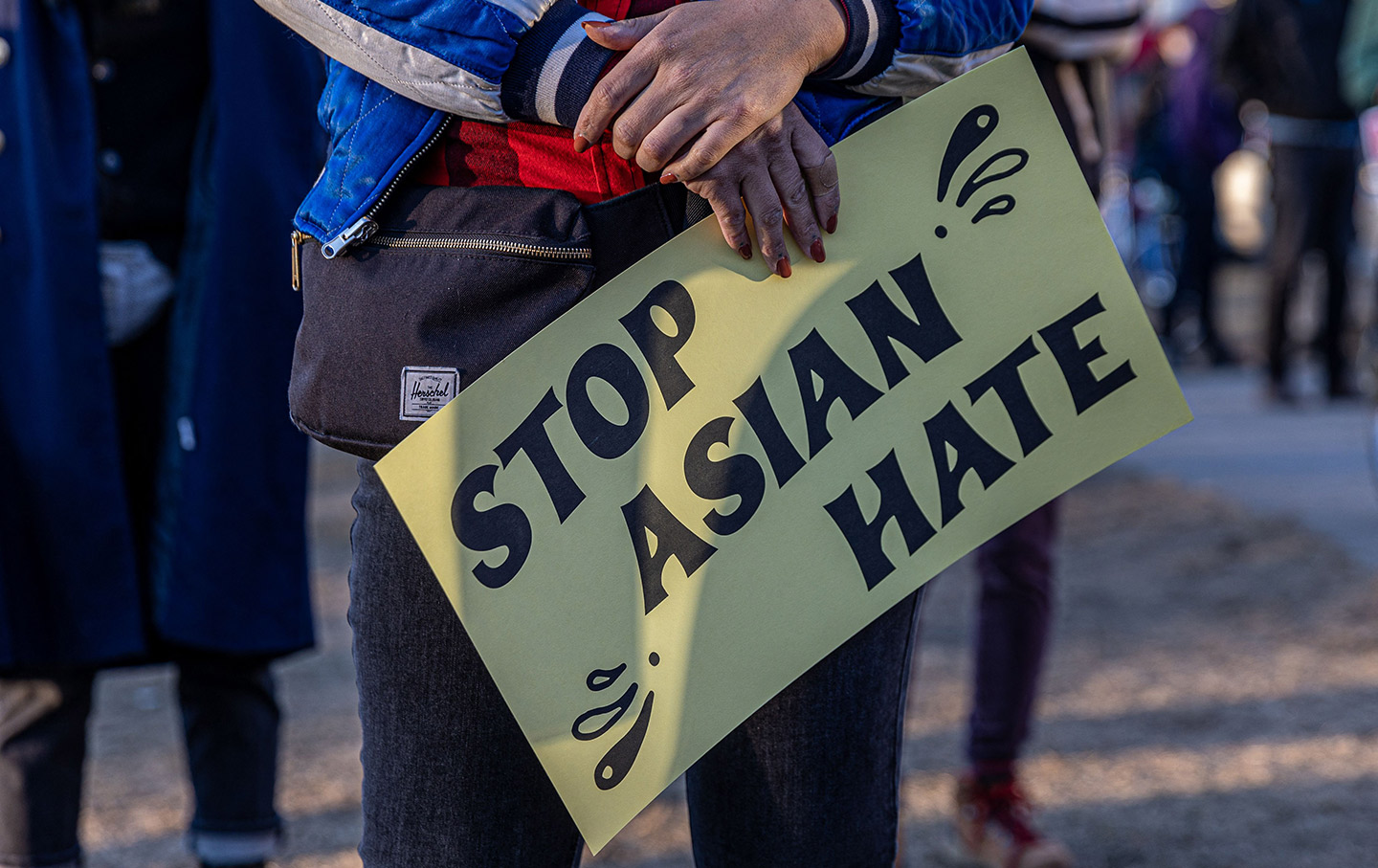 Sign Stop Asian Hate