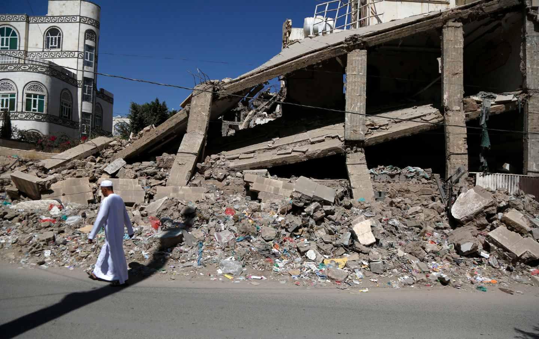 Yemen war destruction