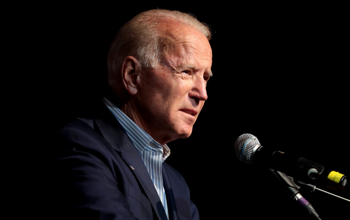 presidential candidate Biden at a campaign rally in Texas